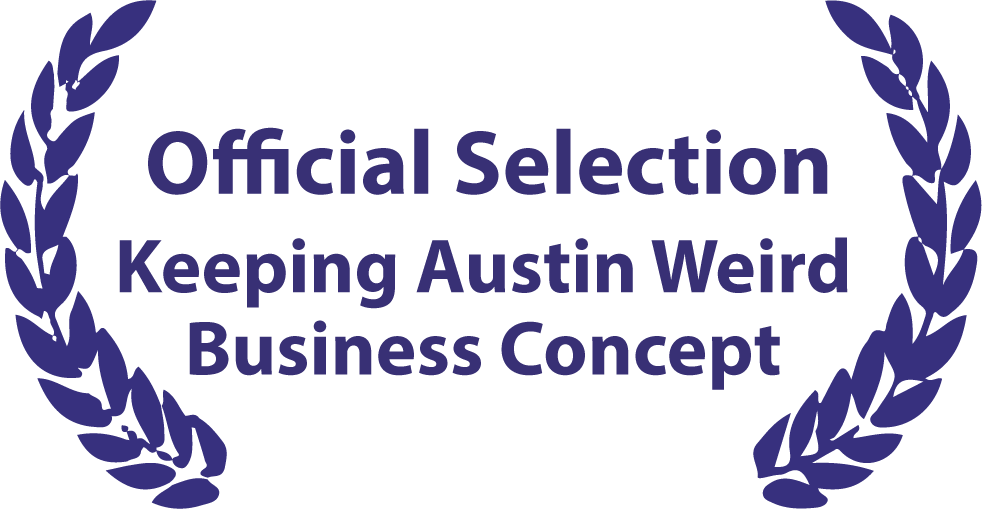 Official Selection Keeping Austin Weird Business Concept